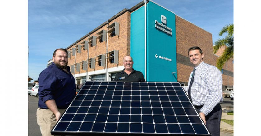 Australia's largest hospital solar array installed in Bundaberg