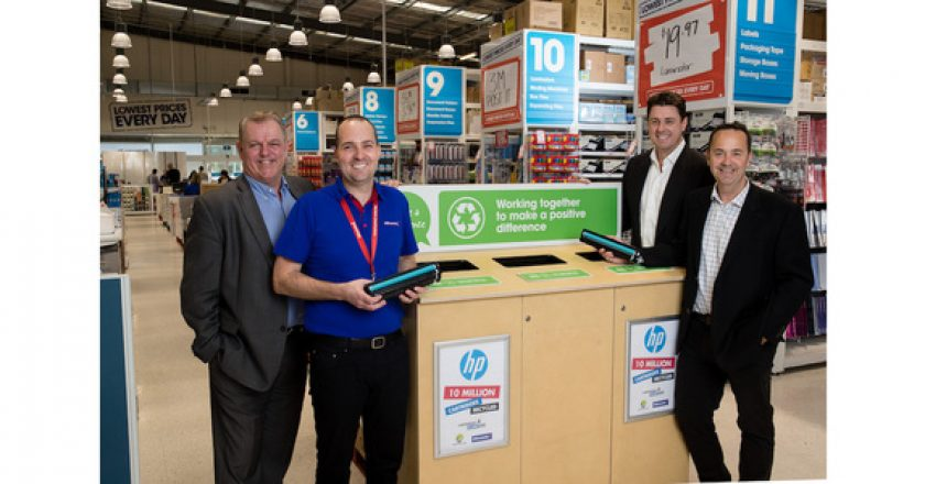 HP Australia leads the country in print cartridge recycling
