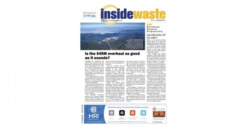 Inside Waste (Feb): A tight race to the top