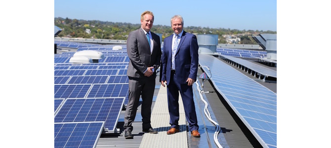 SEW turns to solar for Frankston head office's energy needs