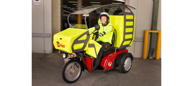 Australia Post set to trial EVs for delivery fleet network