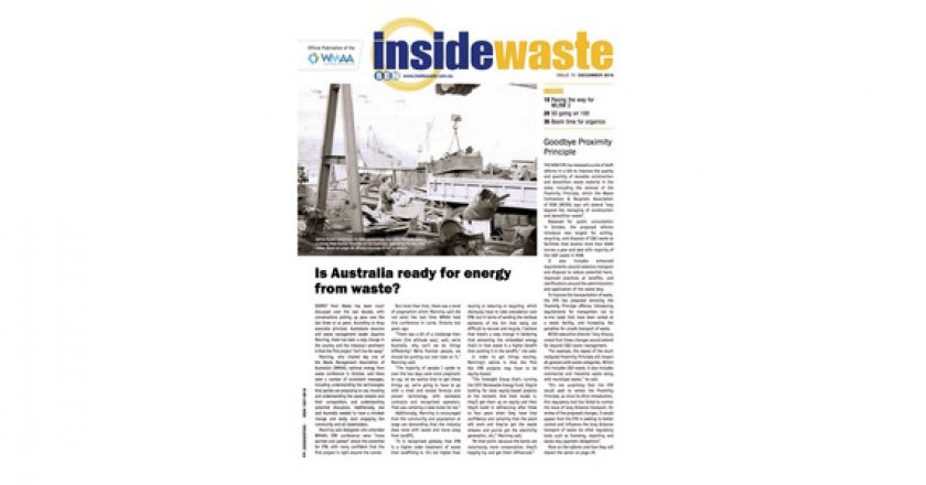 Inside Waste (Dec): Boom time for organics