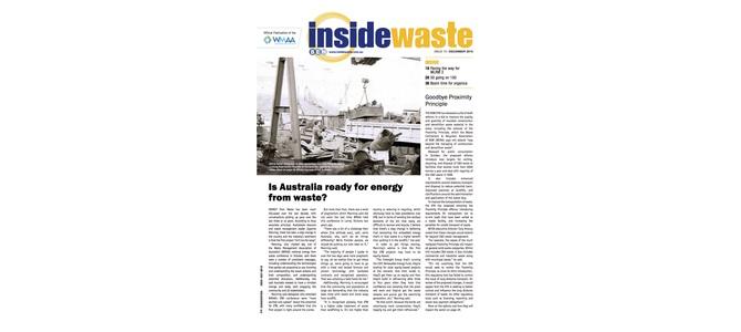 Inside Waste (Dec): Boom time for organics