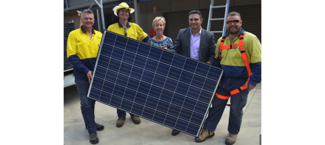A solar Christmas comes early for the Ronald McDonald House
