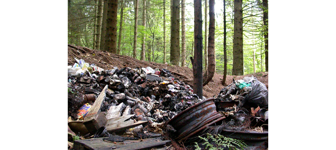 The problem of illegal dumping